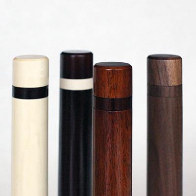 完成した4種類の香筒